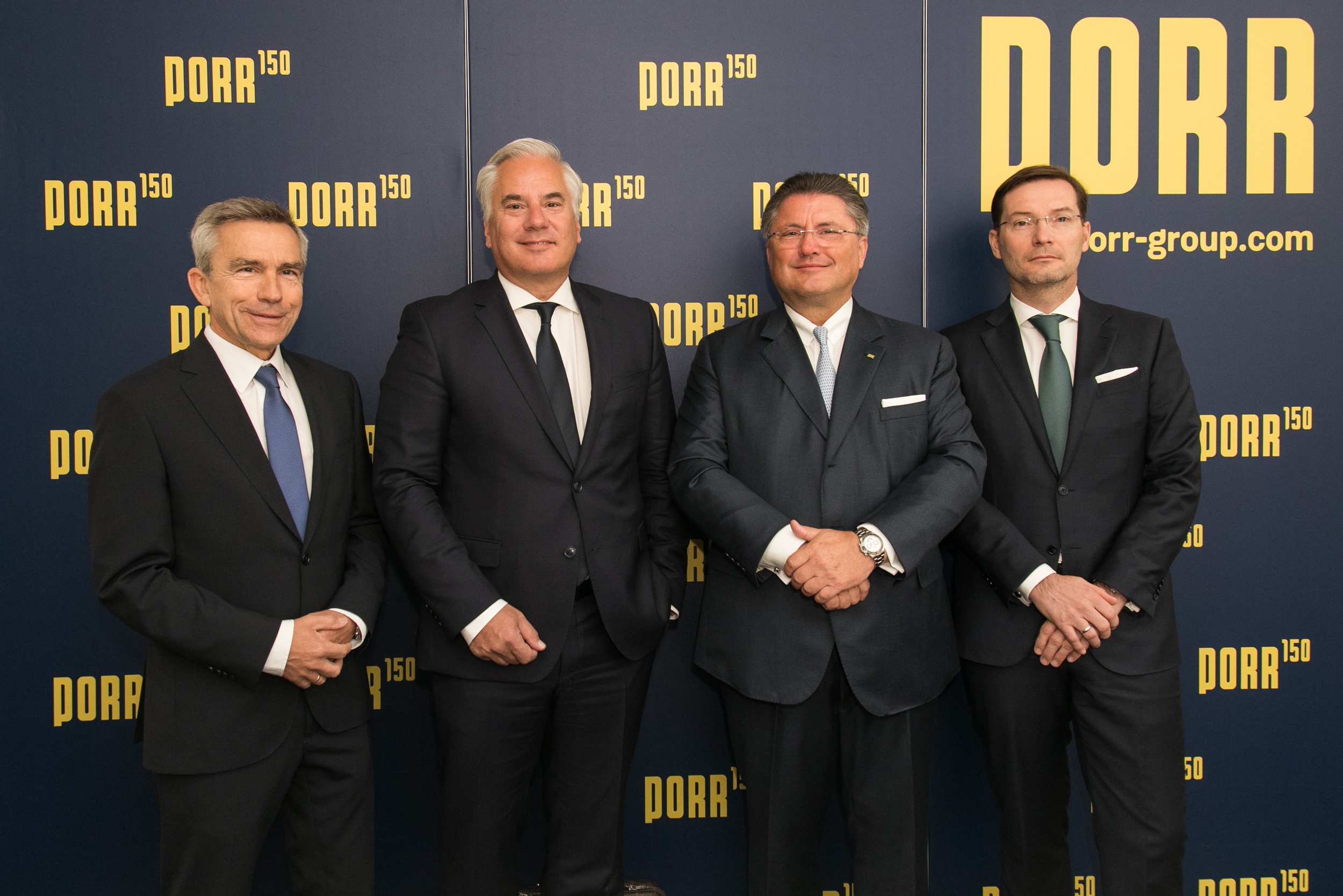 PORR Group Executive Board April 2019
